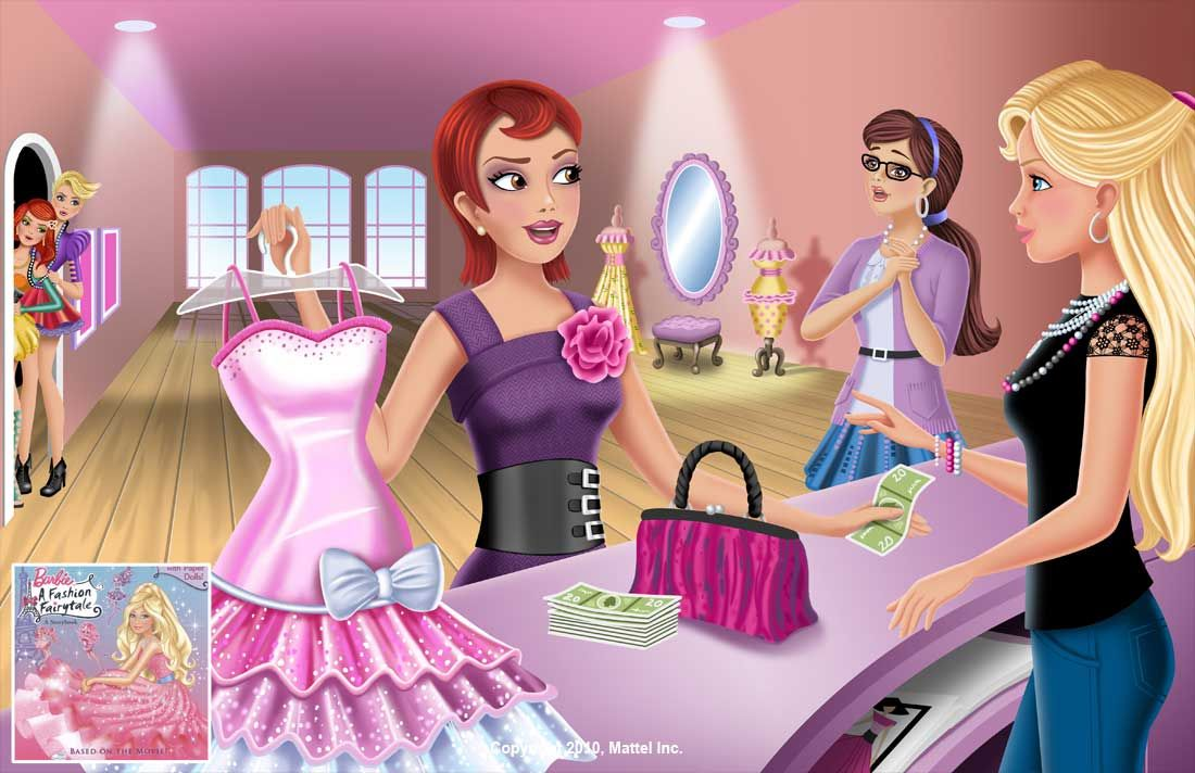 Barbie A Fashion Fairytale Dresses Sketches Barbie - A Fashion Fai...
