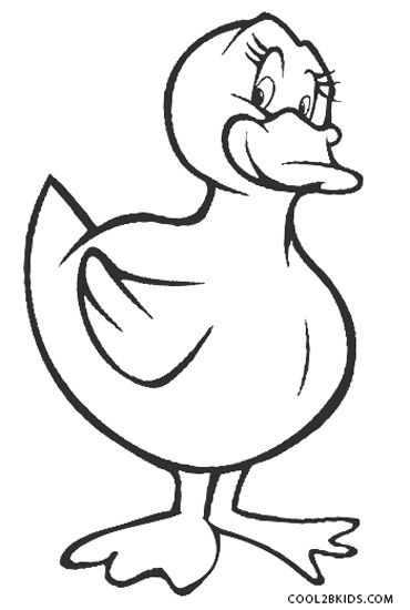 Free Printable Duck Coloring Pages For Kids Cool2bkids