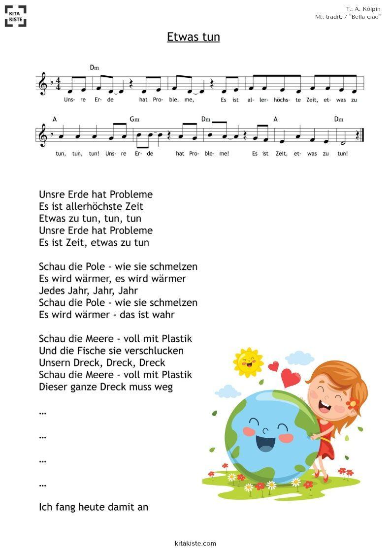 Umwelterziehung für #kita und #grundschule - nach der bekannten Melodie Bella ciao (italien. Volkslied)  - ALLE STROPHEN / KARAOKE & mehr im Shop #bestkaraokemachine