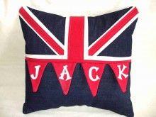 Union Jack Bunting Cushion