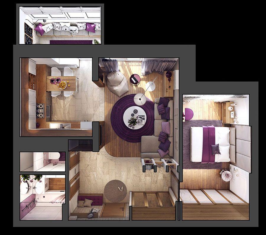 Come Arredare Una Casa Di 70 Mq Ecco 3 Progetti Sorprendenti