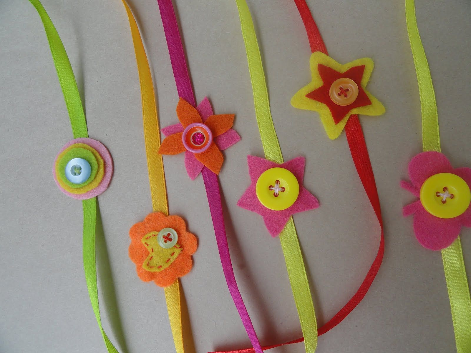 Card Making Ideas For Raksha Bandhan Part - 25: Cute Handmade Rakhis With Buttons - We Have 15 Best Ideas To Make Rakhi At  Home For Rakshabandhan - Perfect Rakhi Ideas For Kids To Make, Rakhi  Competition, ...