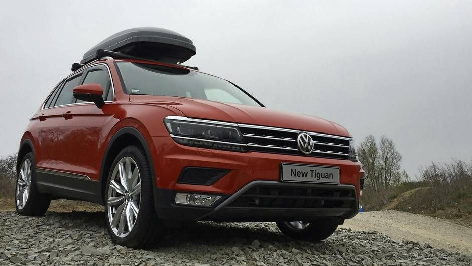Review Review 2018 Vw Tiguan Is Bigger Tougher And More Capable New Cars Volkswagen My Ride