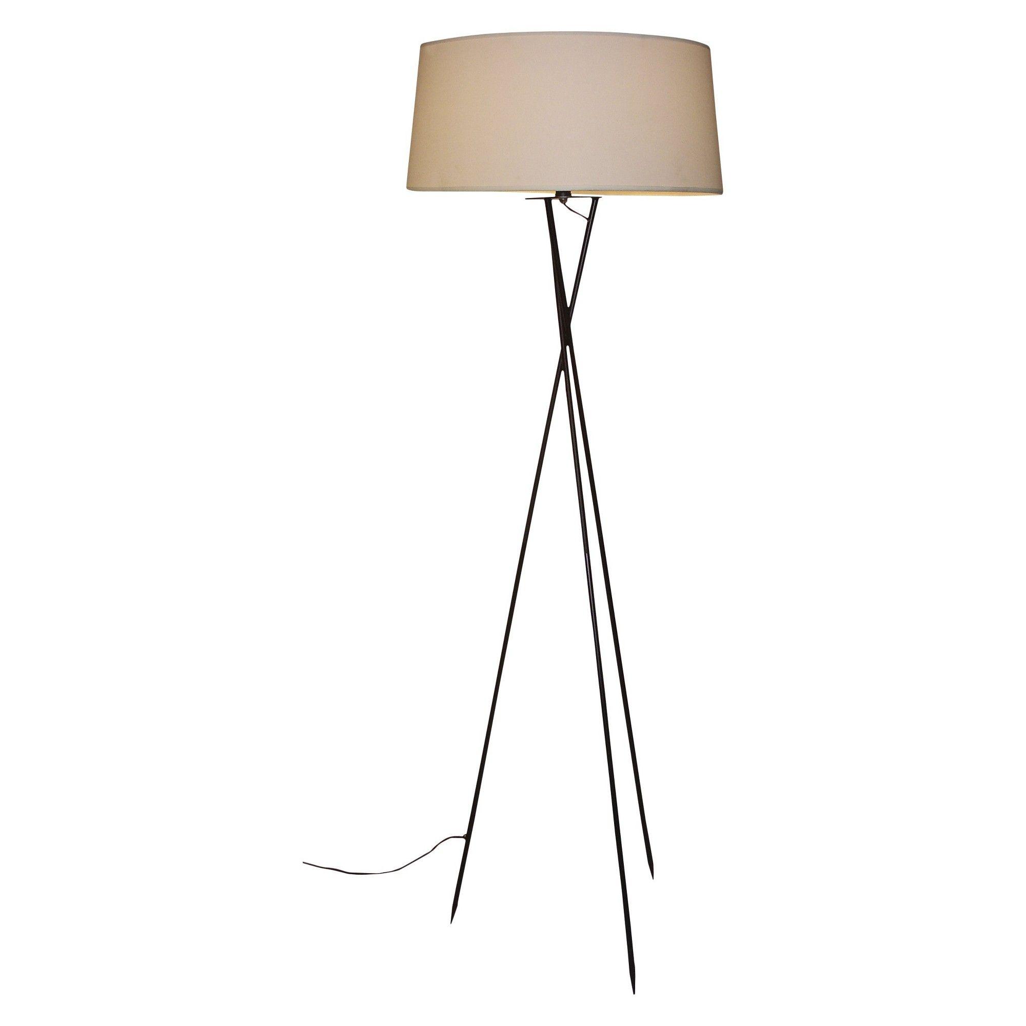 """Orbit Trio Floor Lamp Black (54""""), Women's Floor lamp"""