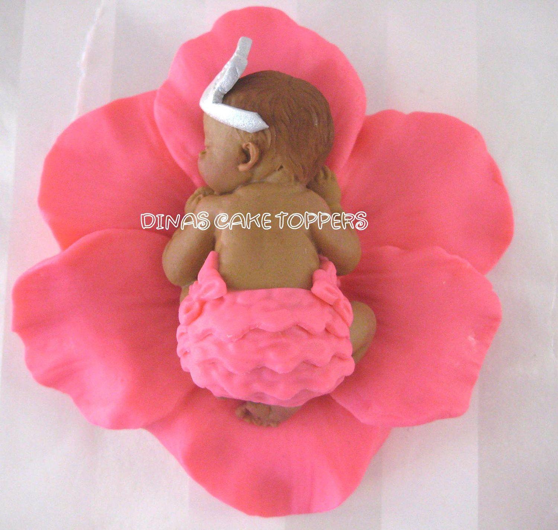 PRINCESS Baby Shower First Birthday FONDANT door DinasCakeToppers, $25,00