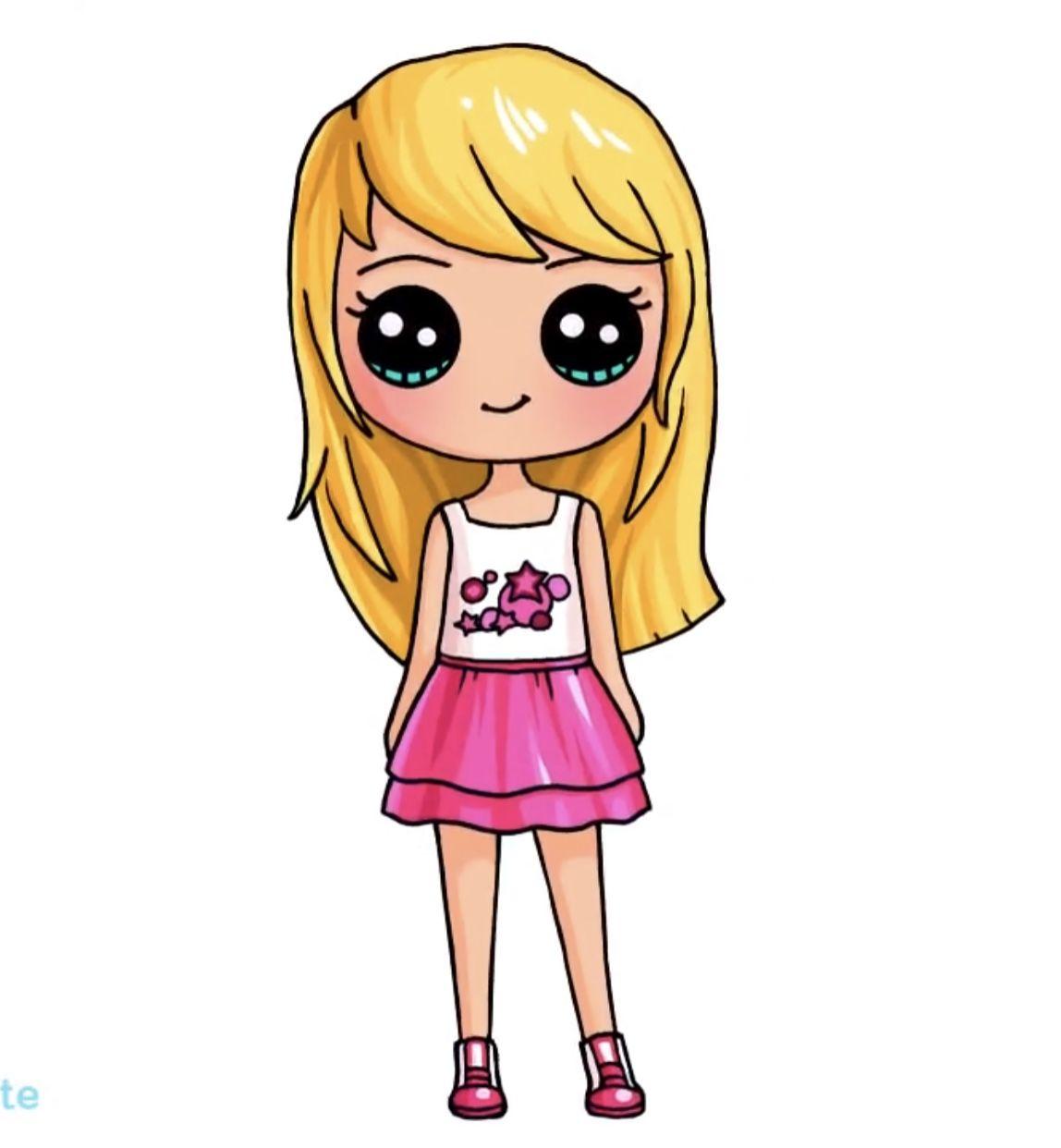Pin By Zyri On Drawings In 2020 Cute Girl Drawing Kawaii Girl
