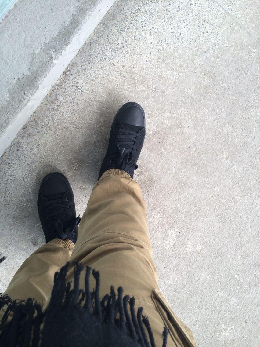 black converse tracksuit