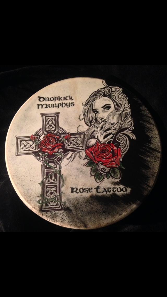 Dropkick Murphys Irish Bodhrán Original
