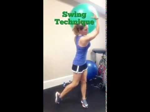 Three Cardiogolf Exercises