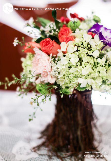 Rustic wedding centerpiece centrepiecesflower arrangementenchanted gardenwedding also best real enchanted garden images on pinterest