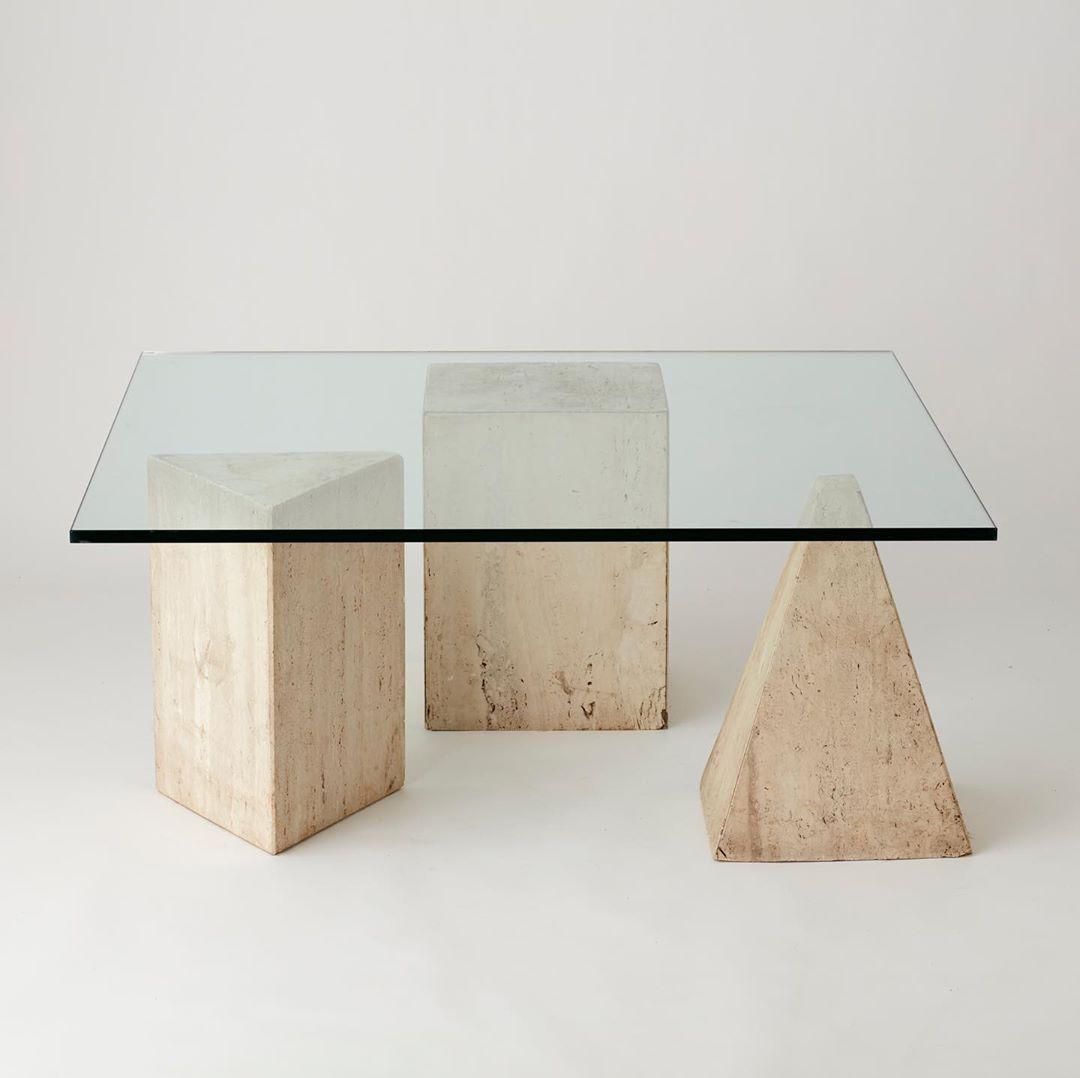 Au On Instagram Hello Beautiful Metafora Luella Massimo Vignelli For Martinelli Online Shor Stone Coffee Table Glass Top Coffee Table Coffee Table [ 1078 x 1080 Pixel ]