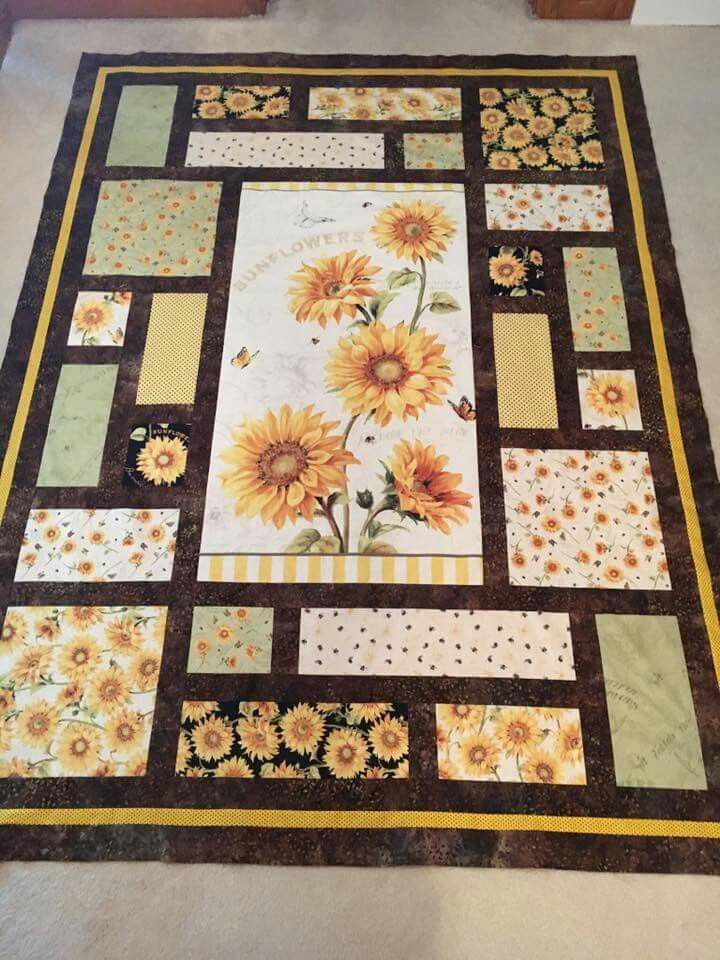 Like The Design And The Idea Panel Quilt Patterns Quilts Panel Quilts