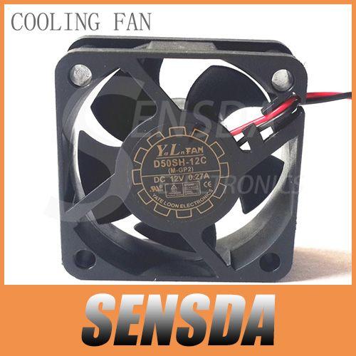SXDOOL 5020 12v 0.27a 2 line d50sh-12c 50mm 5cm axial server cooling fans
