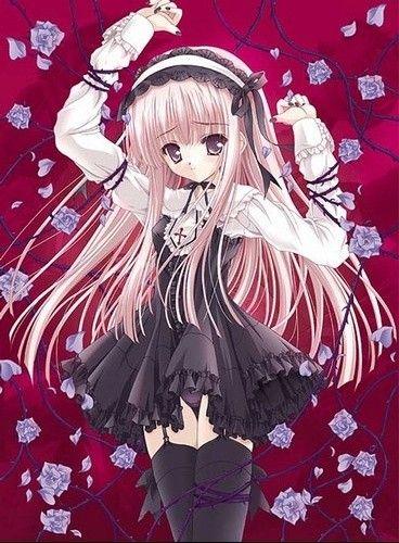 Manga Gothique Fille Triste Pinterest Manga Manga Gothique Et