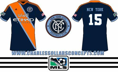 76ca9f575 nyfc 18  New York City Football Club striped concept kits with  Etihad  Airways shirt