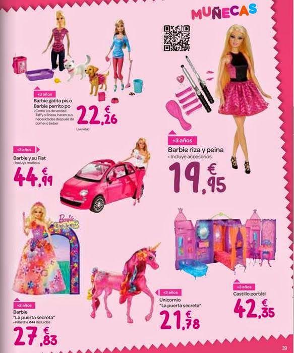 Navidad Barbie Muñecas Para En CarrefourValenntina 2014 BxdCerWQo