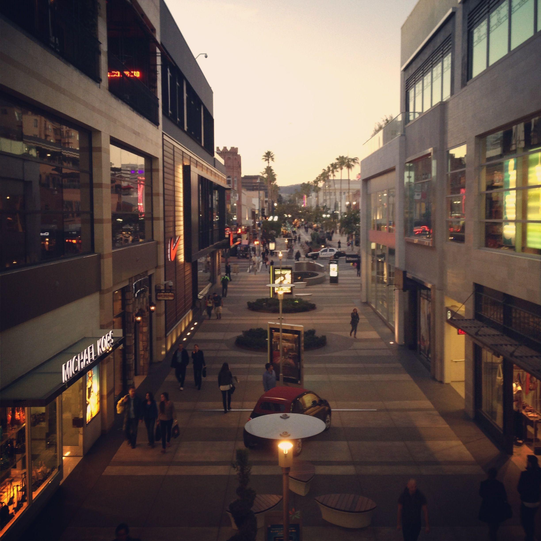 Third Street Promenade from Santa Monica Place