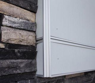 Single Family Siding Trim Fiber Cement Trim Tall Cabinet Storage