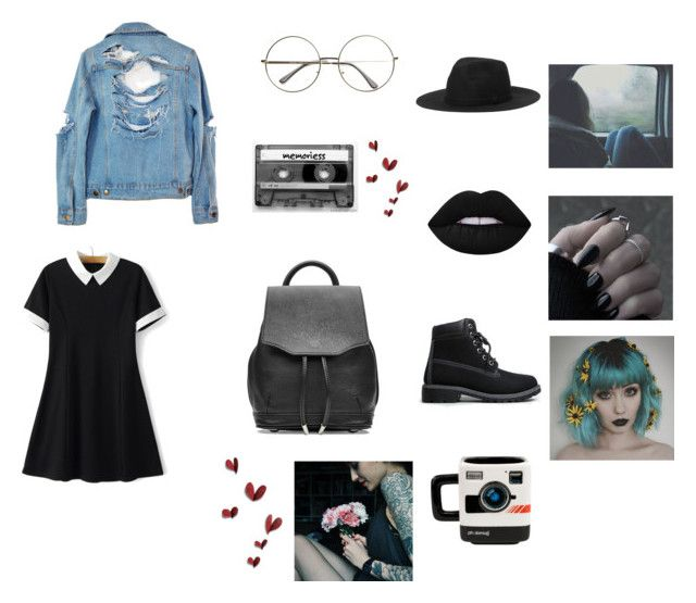 """""""Feelings"""" by thaisa1989 ❤ liked on Polyvore featuring High Heels Suicide, rag & bone, CASSETTE, Monki, Lime Crime and Nature Breeze"""