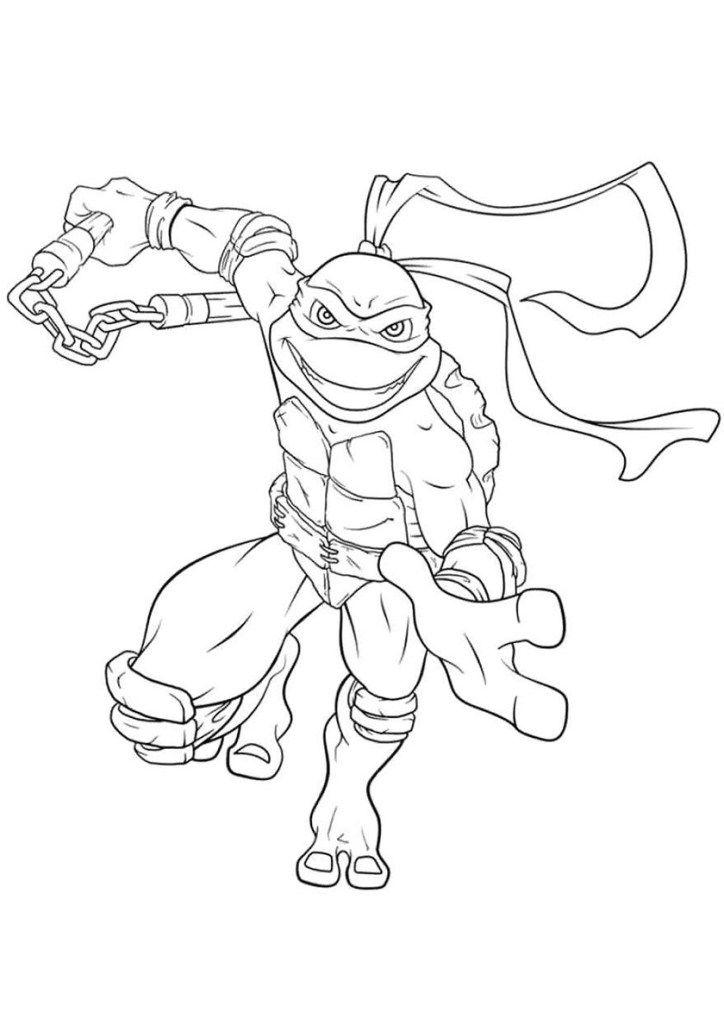 malvorlagen ninja turtles  turtle coloring pages ninja