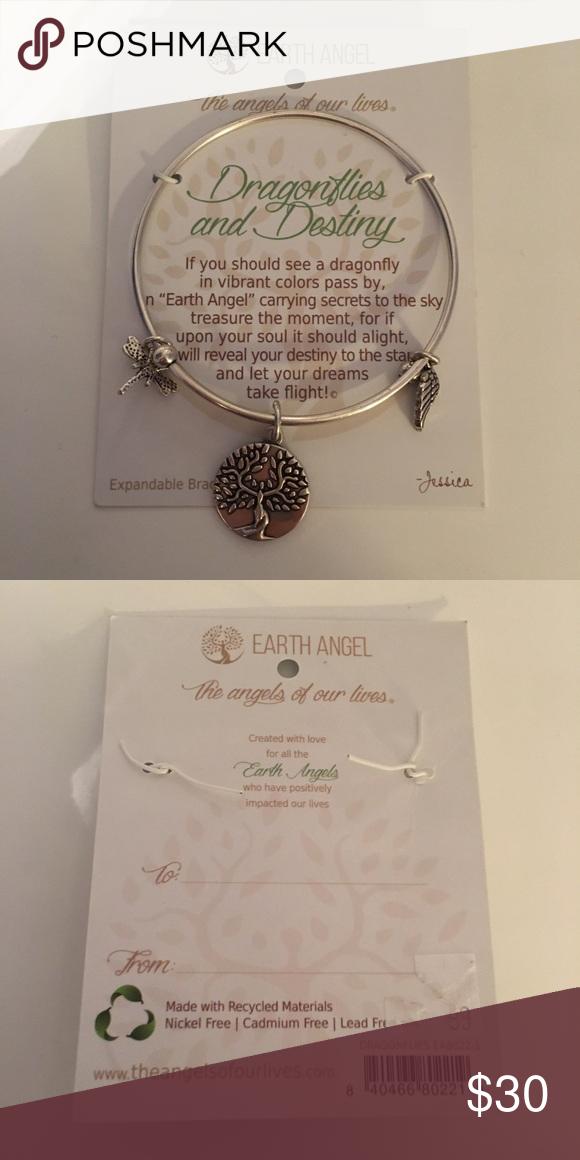Earth Angel Dragonflies And Destiny Bracelet