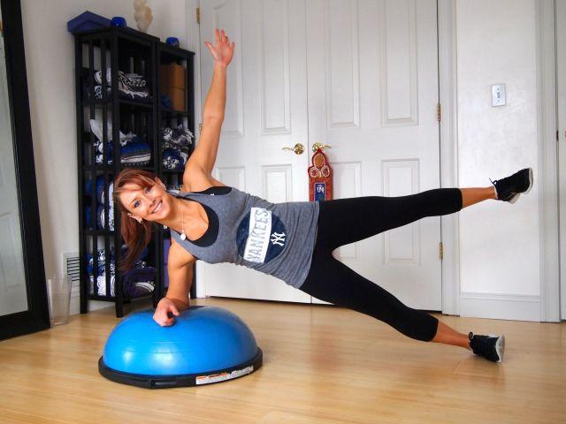 Bosu Core Workout