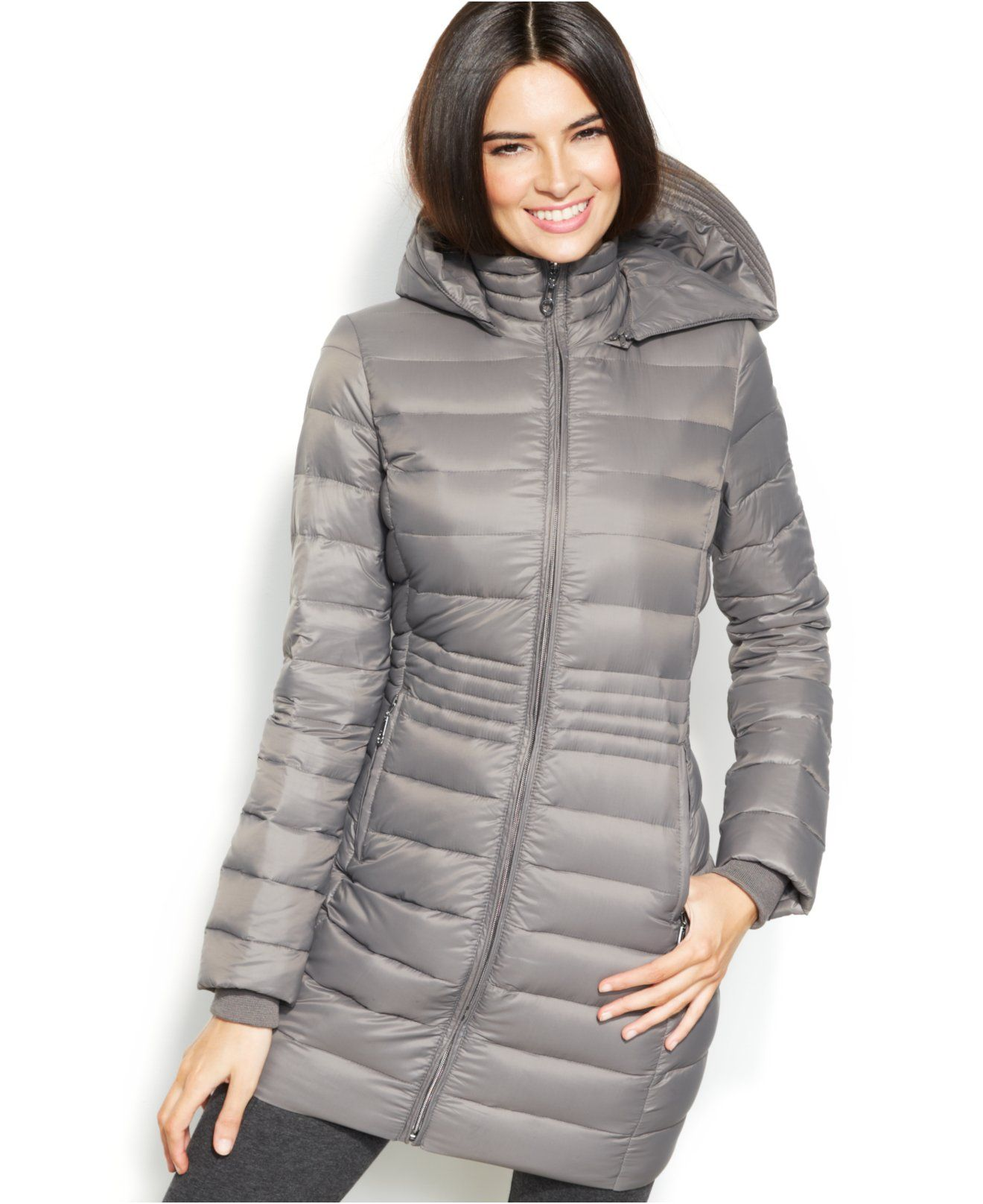 4ca04dda9 INC International Concepts Hooded Quilted Packable Down Puffer Coat ...