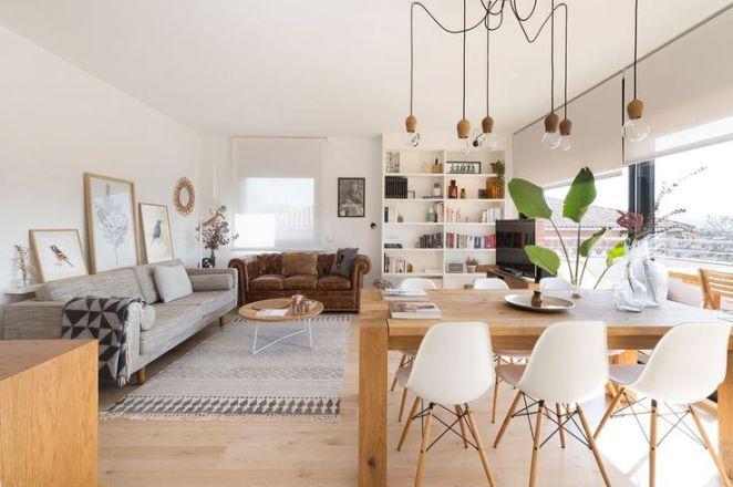 Déco Salon Comment réaliser une déco chaleureuse dans un appartement - decoration maison salon moderne