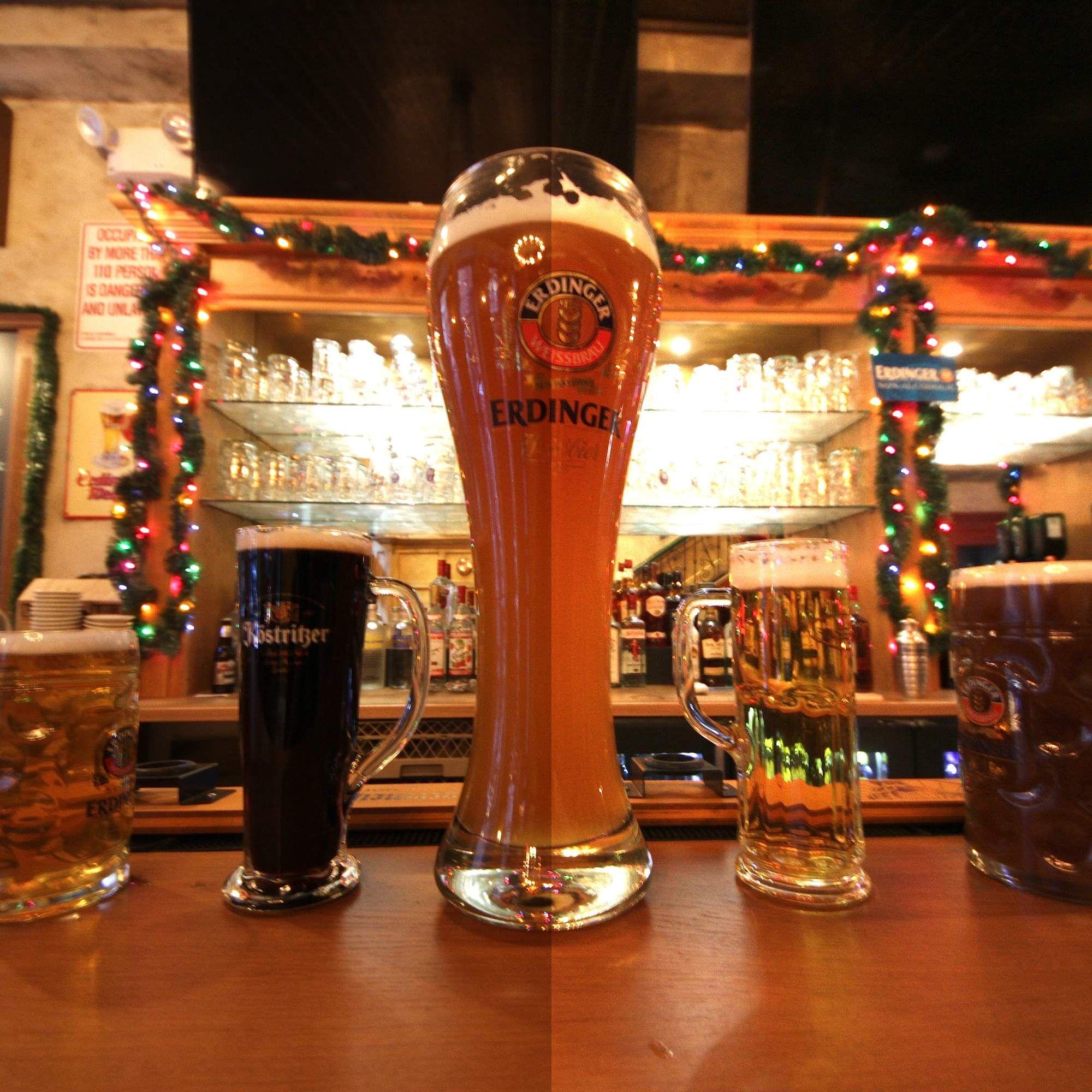 20 spots to get giant beers in NYC German beer, Beer, Nyc
