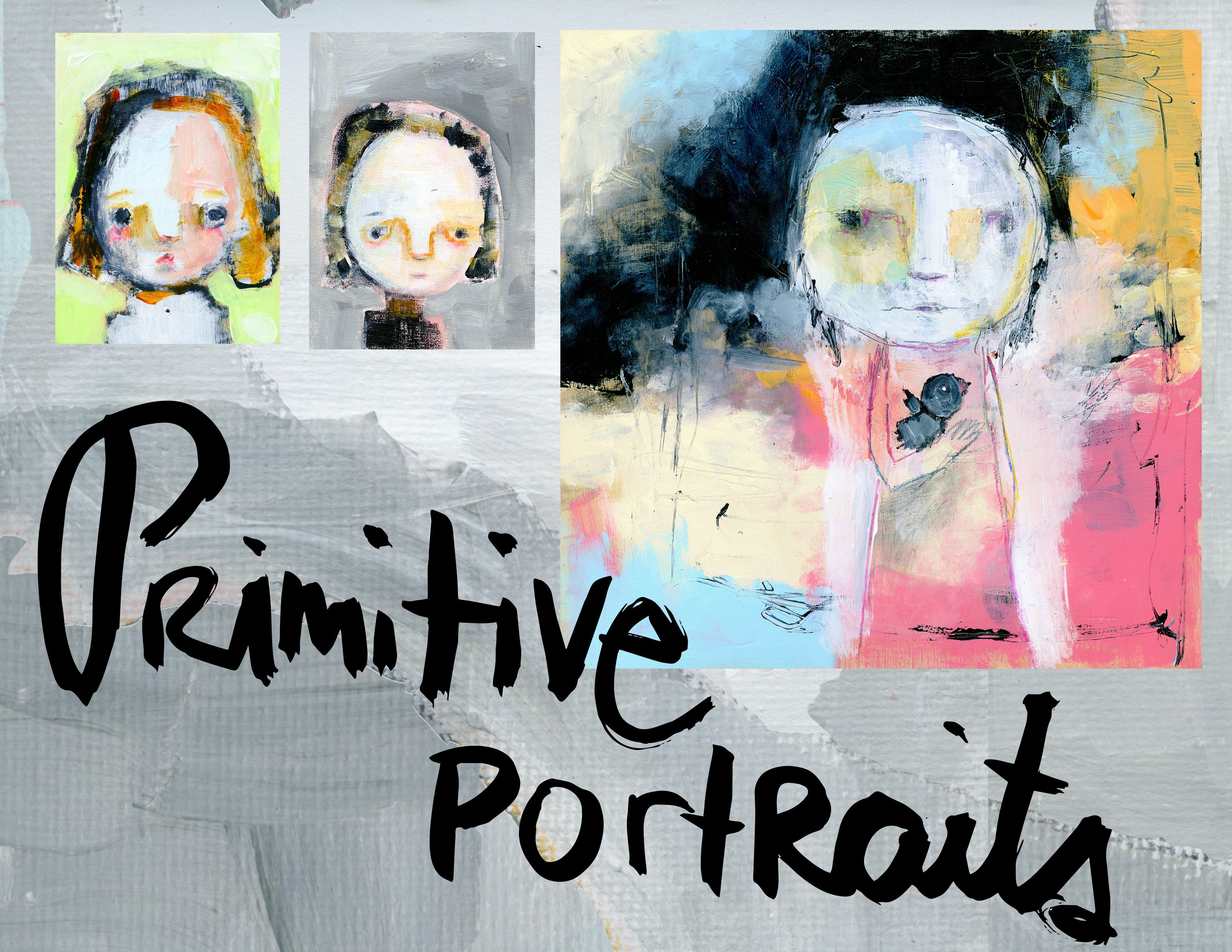 Primative Portraits; class by Mindy Lacefield; timssally.com; All signed up and eager to begin!