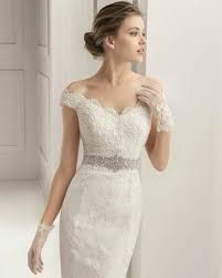 Vestidos de novia cortos pegados