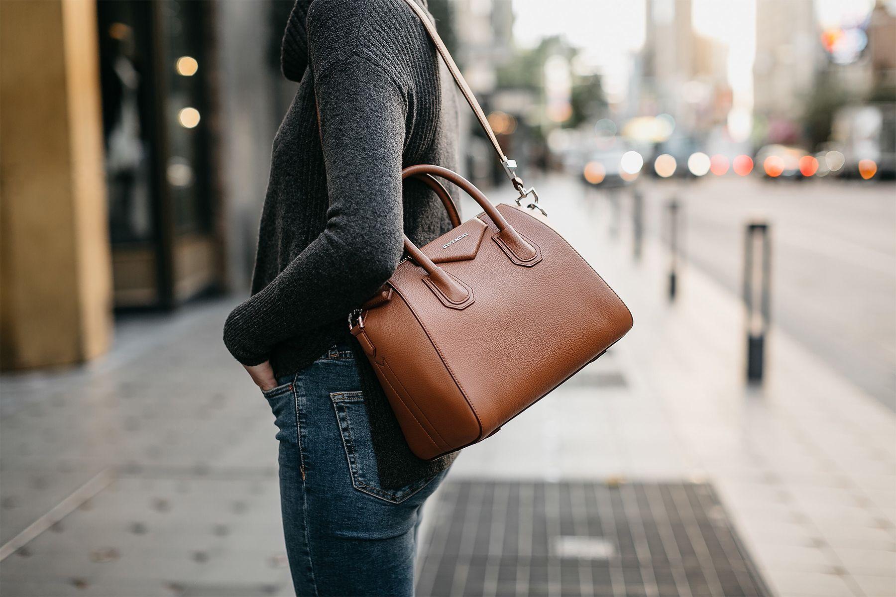 05fbb4200ea9 Givenchy Antigona Cognac Handbag Fashion Jackson Dallas Blogger Fashion  Blogger Street Style
