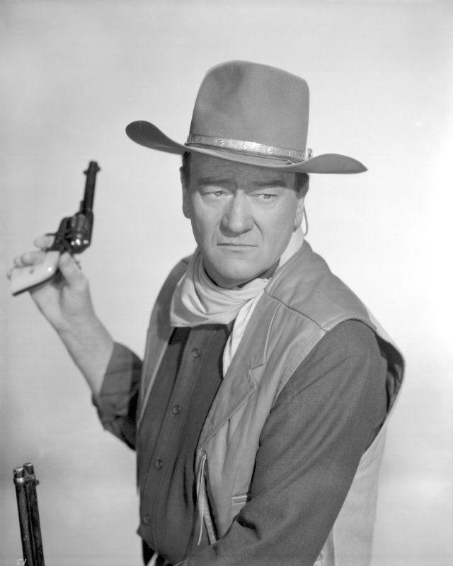 """John Wayne in """"El Dorado"""" (1966)"""