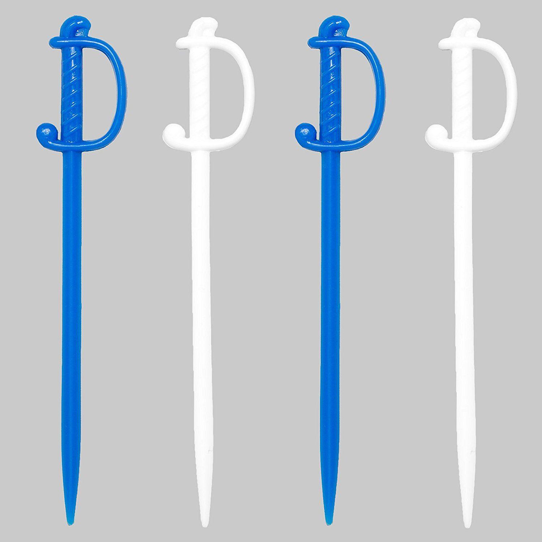 Soodhalter Hanukkah Regal Swords, 50 Blue