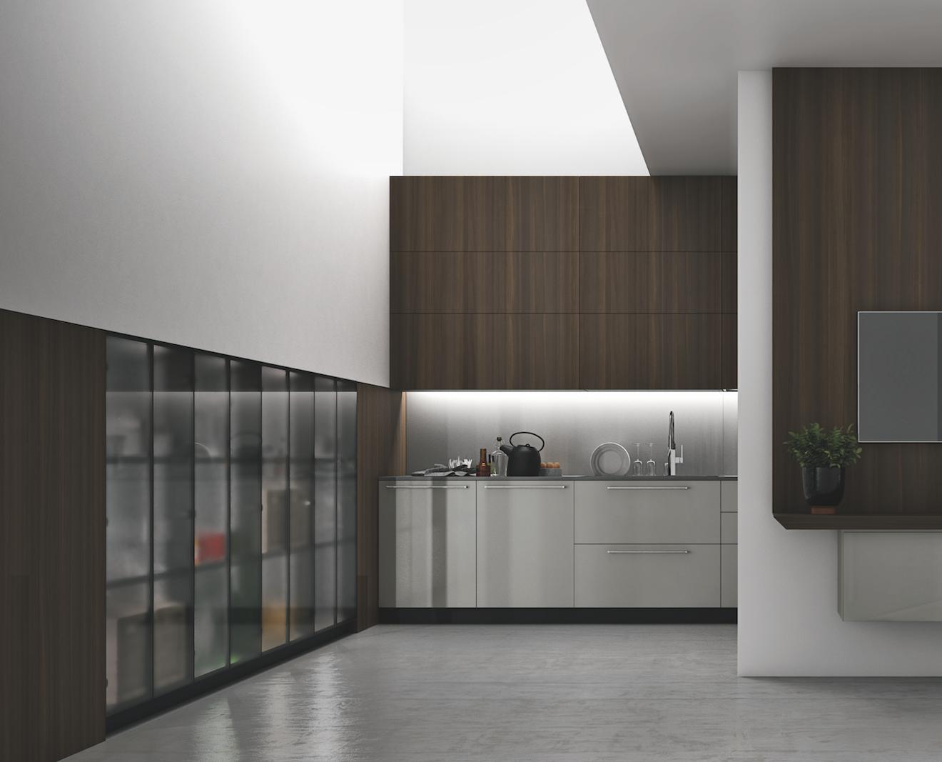 Credenze e vetrinette moderne in soggiorno | Cucine nel 2019 ...