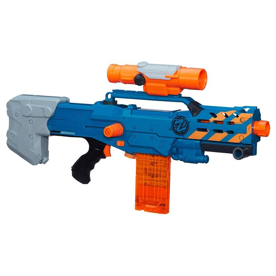 nerf zombie strike longshot blaster image 0 zombie strike pinterest nerf guns and nerf mod. Black Bedroom Furniture Sets. Home Design Ideas