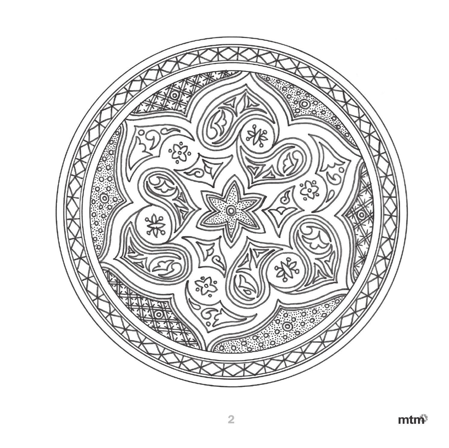 Arte Andaluz En Mandalas Mtm Editores By Mtm Editores Issuu Trippy Drawings Coloring Pages Adult Coloring Pages