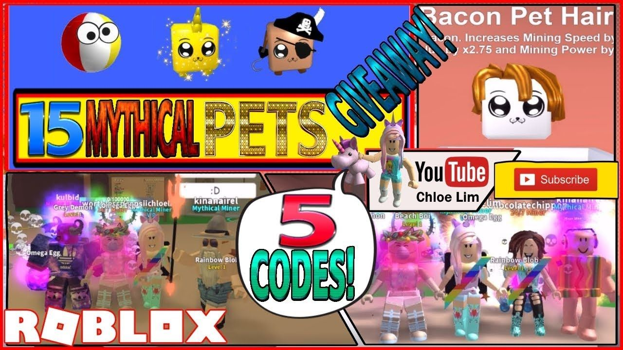 Trails Roblox Mining Simulator 5 Codes 15 Mythical - roblox mining simulator mythical pet code