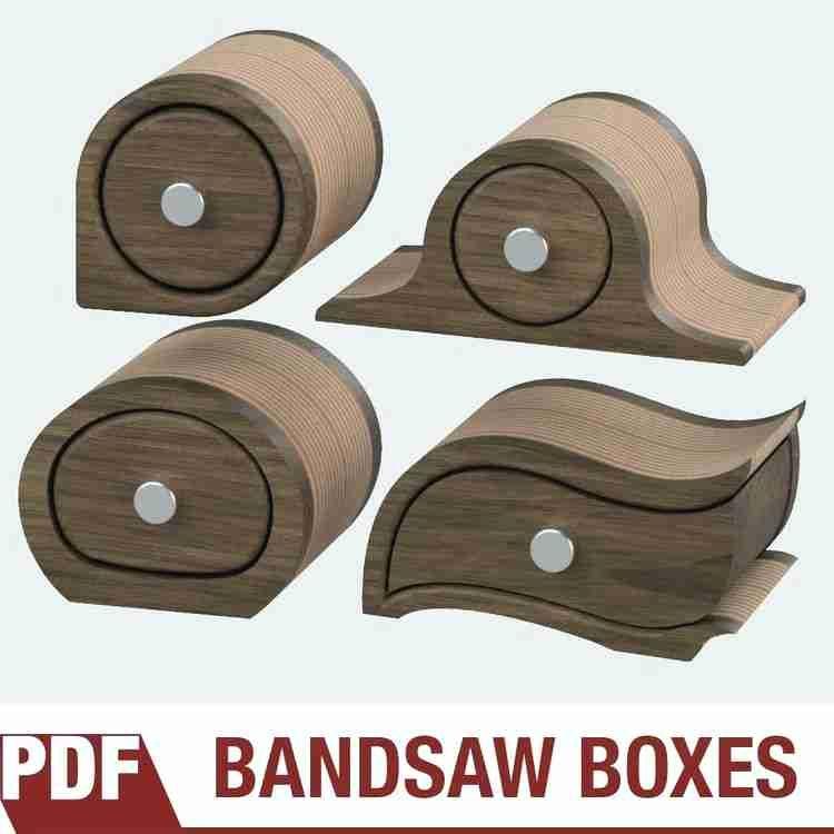 Bandsaw Box Templates