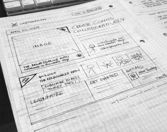 Pin on Inspiration: UI/UX/Web Sketches