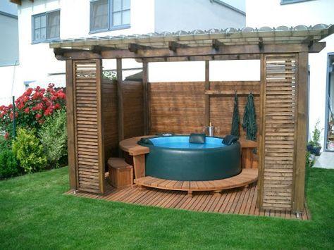 Softub Whirlpool – Whirlpools und Gartenpavillons #hottubdeck