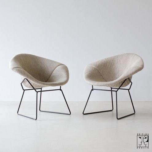 Diamond Chair von Harry Bertoia   chair   Pinterest   Harry bertoia ...