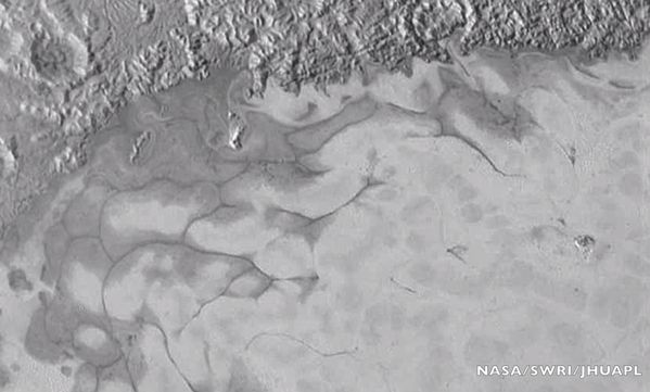 Flowing Ice On Pluto! Exciting Isn't It?