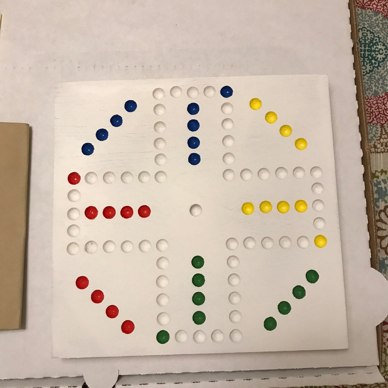 15 Aspen Or Pine 4 Player Aggravation Board Wahoo With Marbles