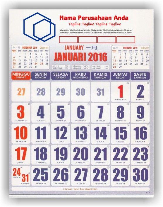 Gaya Terbaru 35+ Desain Kalender Pinterest