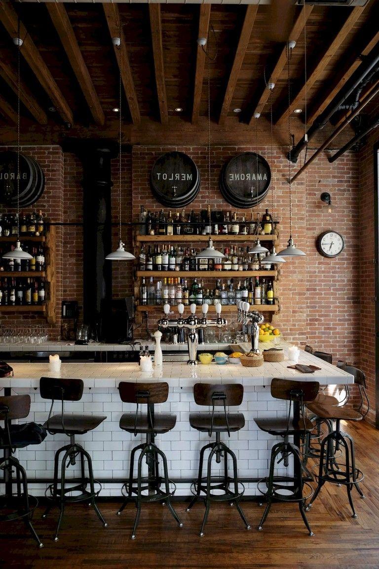 48 Quality Bar Decor Ideas Rustic Coffee Shop Coffee Shop Decor Bar Interior