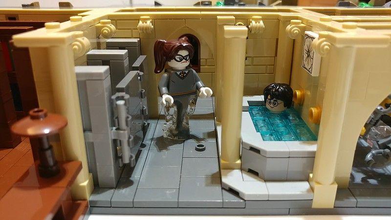 1 54 Lego Harry Potter Moc Lego Hogwarts Lego Harry Potter
