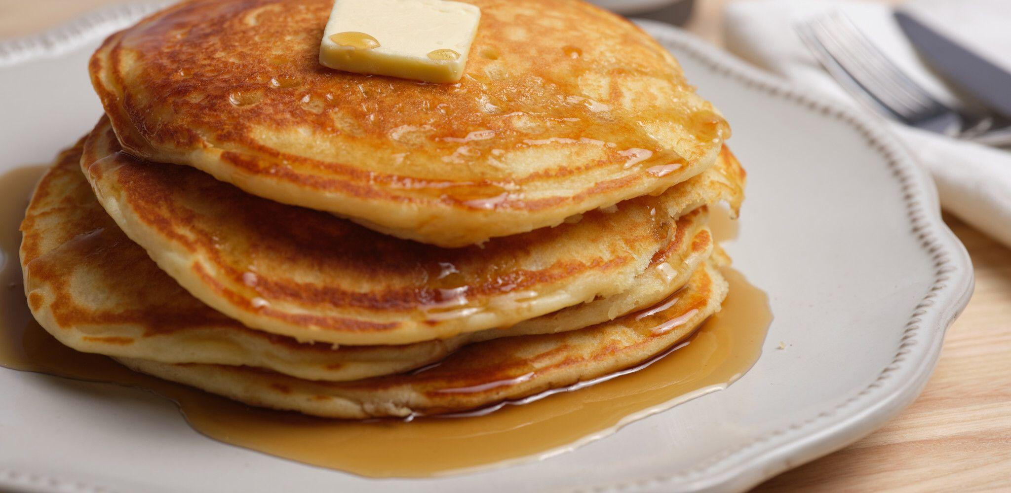 The Best Buttermilk Pancakes Recipe In 2020 Food Network Recipes Food Network Pancakes Buttermilk Pancakes