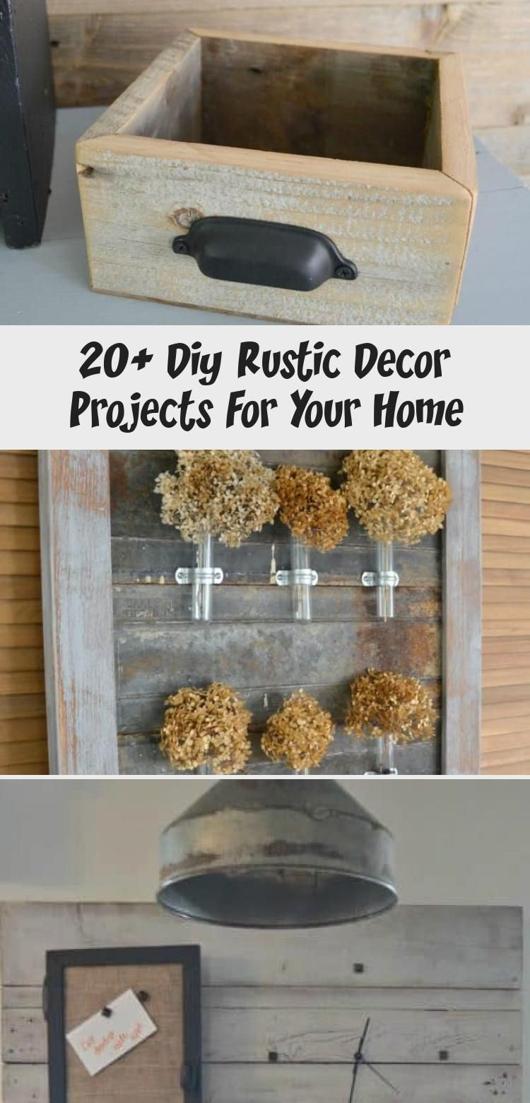20 diy rustic decor projects for your home diy on easy diy woodworking projects to decor your home kinds of wooden planters id=82845