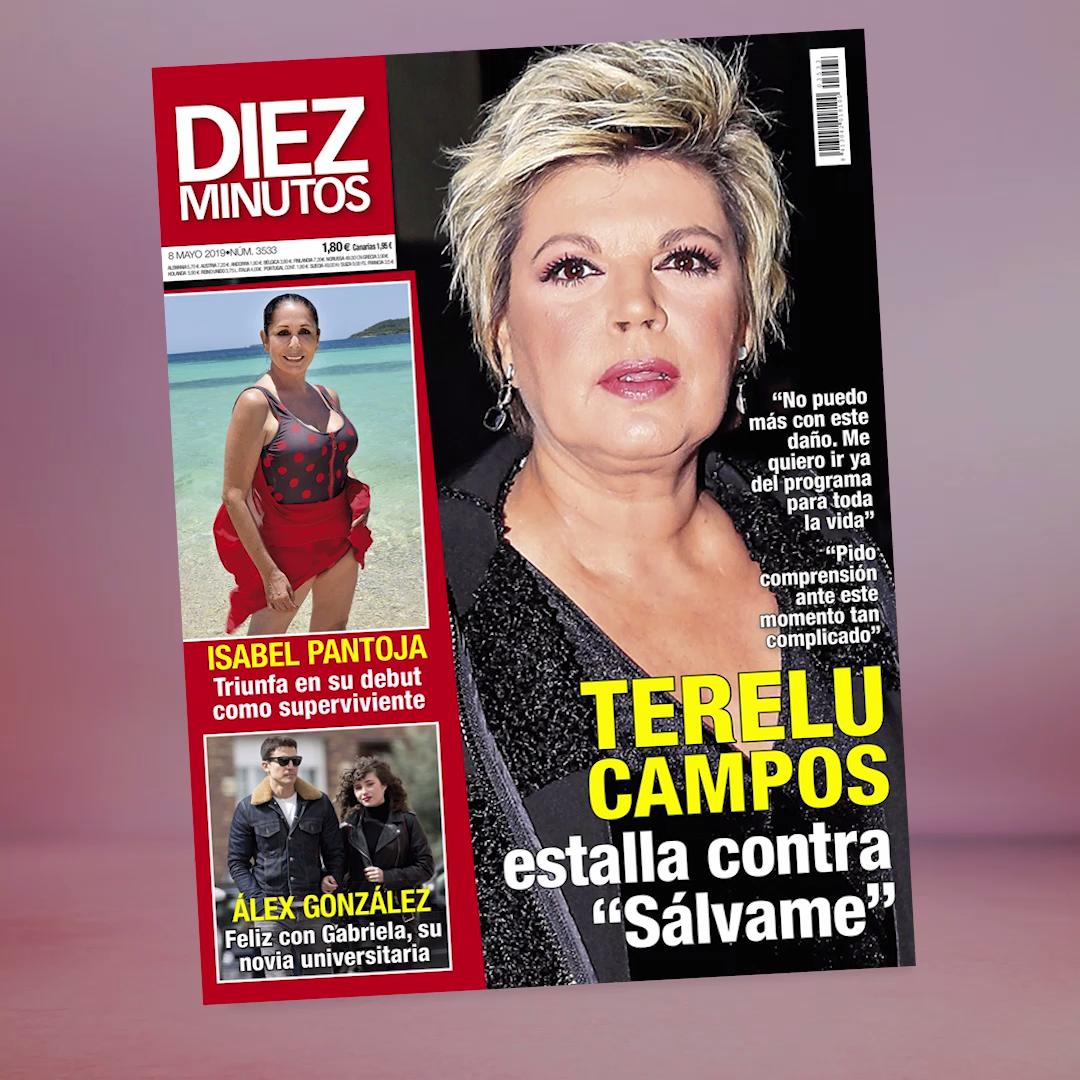 Así Es La Portada De La Revista Diez Minutos Esta Semana Video Revista Diez Minutos Noticias Del Corazon Famosos